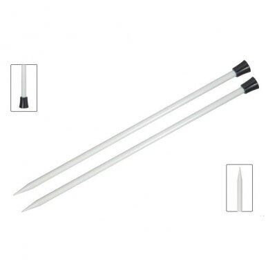 Aliuminiai virbalai  (tiesūs - 40cm) KnitPro 2