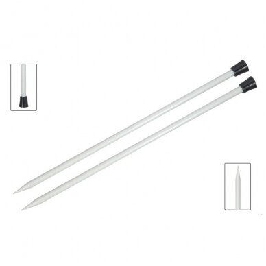 Aliuminiai virbalai  (tiesūs - 40cm) KnitPro 3
