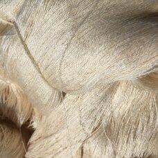 Medvilnė su šilku ir dirbtiniu šilku