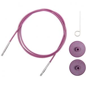 Prisukamas valas KnitPro (purpurinis)